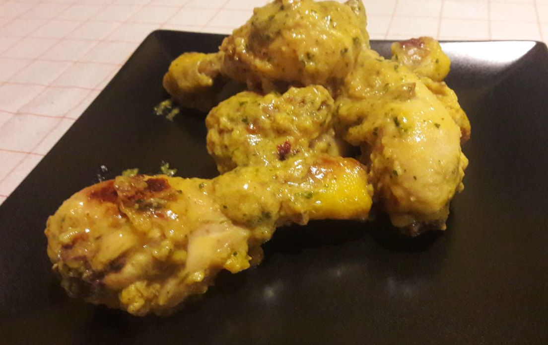 Pollo al Curry e Zafferano